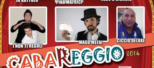 """I COMICI REGGINI """"DANNO SPETTACOLO"""" AL CABAREGGIO"""