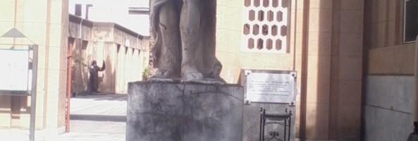 MONUMENTI REGGINI: LA STATUA DELL'ANGELO TUTELARE