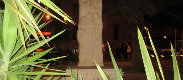 MONUMENTO A FRANCESCO SOFIA ALESSIO SUL LUNGOMARE REGGINO