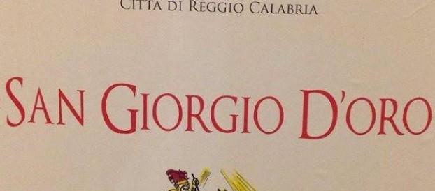 """ATTRIBUZIONE DEL """"SAN GIORGIO D'ORO CITTA' DI REGGIO CALABRIA"""""""