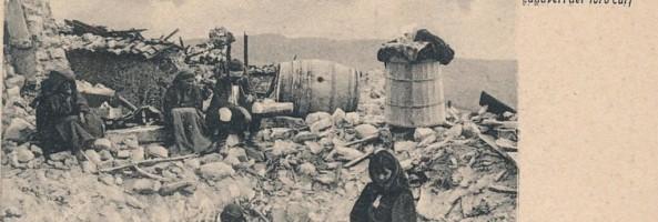 Il TERREMOTO IN CALABRIA DEL 23 OTTOBRE 1907
