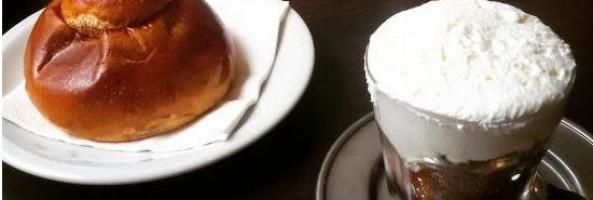 GRANITA AL CAFFE' E PANNA
