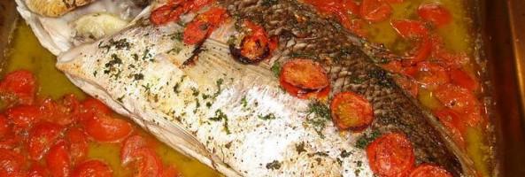 Ricette di Calabria: pesce al forno