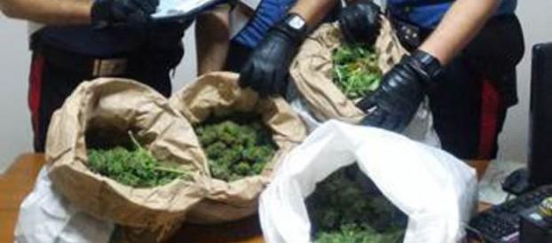 CALABRIA: ARRESTATE 3 PERSONE PER DROGA NEL REGGINO