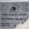 REGGIO CALABRIA: DANNEGGIATA TARGA AL PARCO BOTTEGHELLE