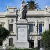 BELLEZZE DI REGGIO: LA STATUA ALL'UNITA' D'ITALIA