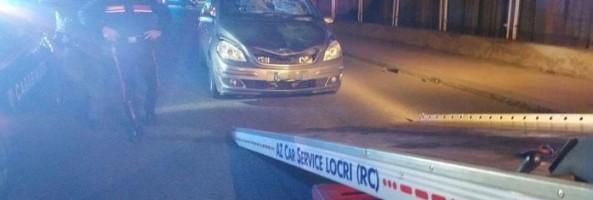 NEL REGGINO: AUTO INVESTE COPPIA. UN MORTO