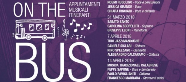 "REGGIO CALABRIA: ""MUSIC ON THE BUS"" – MUSICA ITINERANTE A BORDO DEI BUS ATAM"