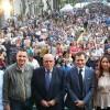 BAGNO DI FOLLA PER IL PRESIDENTE OLIVERIO IN ARGENTINA
