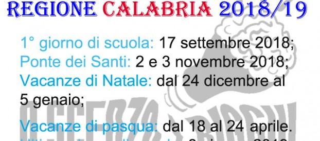 calendario scolastico calabria 201516
