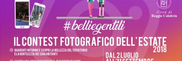 """ESTATE REGGINA, APERTO IL CONTEST FOTOGRAFICO SU INSTAGRAM """"#BELLIEGENTILI"""""""