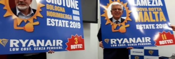 Ryanair Lancia La Programmazione Estate 2019 Dalla Calabria