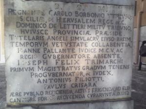 Angelo Tutelare_basamento