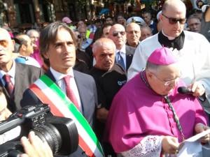 A Reggio processione della Madonna della Consolazione