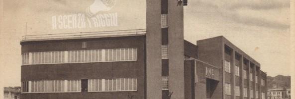 LA CASA DEL FASCIO A REGGIO CALABRIA E IL DISCORSO DI MUSSOLINI AI REGGINI NEL 1939