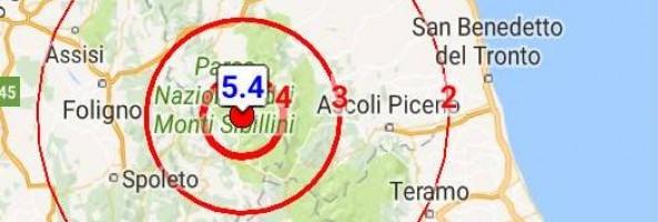 FORTE SCOSSA DI TERREMOTO SCUOTE ANCORA IL CENTRO ITALIA