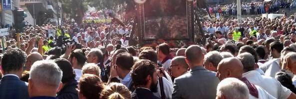 NAVETTE GRATUITE DAL CENTRO FINO ALL'EREMO IN OCCASIONE DELLA PROCESSIONE DELLA MADONNA DELLA CONSOLAZIONE
