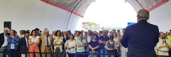 APERTA AL TRAFFICO LA VARIANTE DI PALIZZI LUNGO LA SS106 JONICA