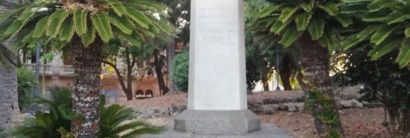 MONUMENTI REGGINI: STELE DEL PARTIGIANO